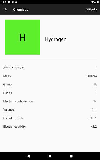 Chemistry screenshot 11