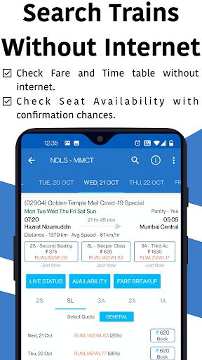 Live Train & Indian Rail Status - Locate My Train स्क्रीनशॉट 2