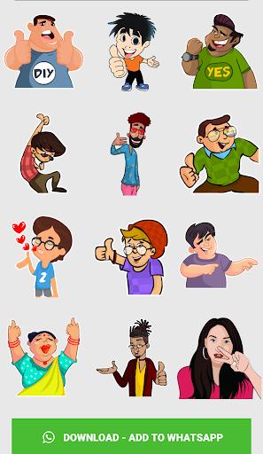 Stickers For WhatsApp ( WAStickerApps ) screenshot 6