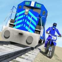 Bike vs. Train – Top Speed Train Race Challenge on 9Apps
