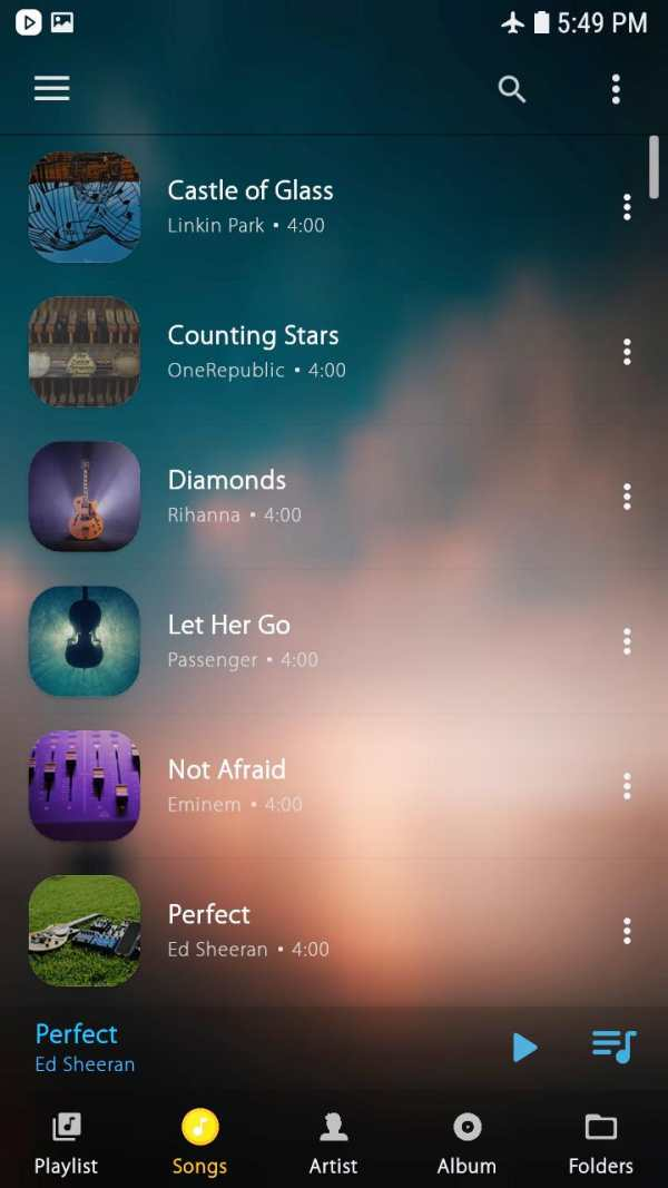 Music Player screenshot 10