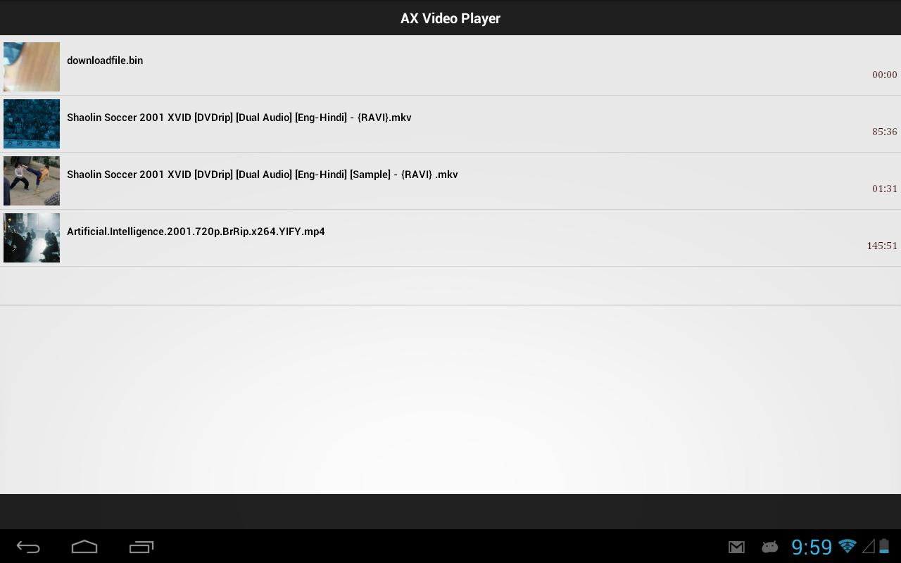 AX Video Player screenshot 6