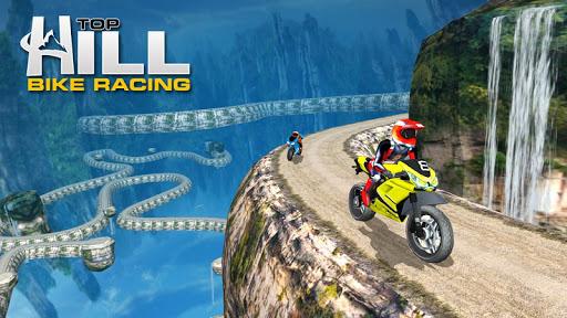 Hill Top Bike Racing 1 تصوير الشاشة