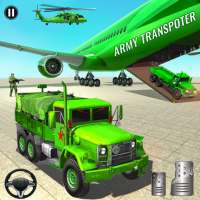 US Army Transporter Offroad Truck Simulator Games on 9Apps