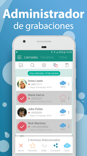 Call Recorder - Grabador de llamadas gratis screenshot 4