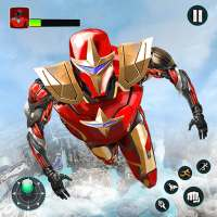 Flying Robot Hero - Crime City Rescue Robot Games on APKTom