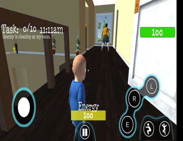 Angry Granny  Simulator fun game स्क्रीनशॉट 4