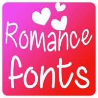 Romance Fonts for FlipFont on 9Apps