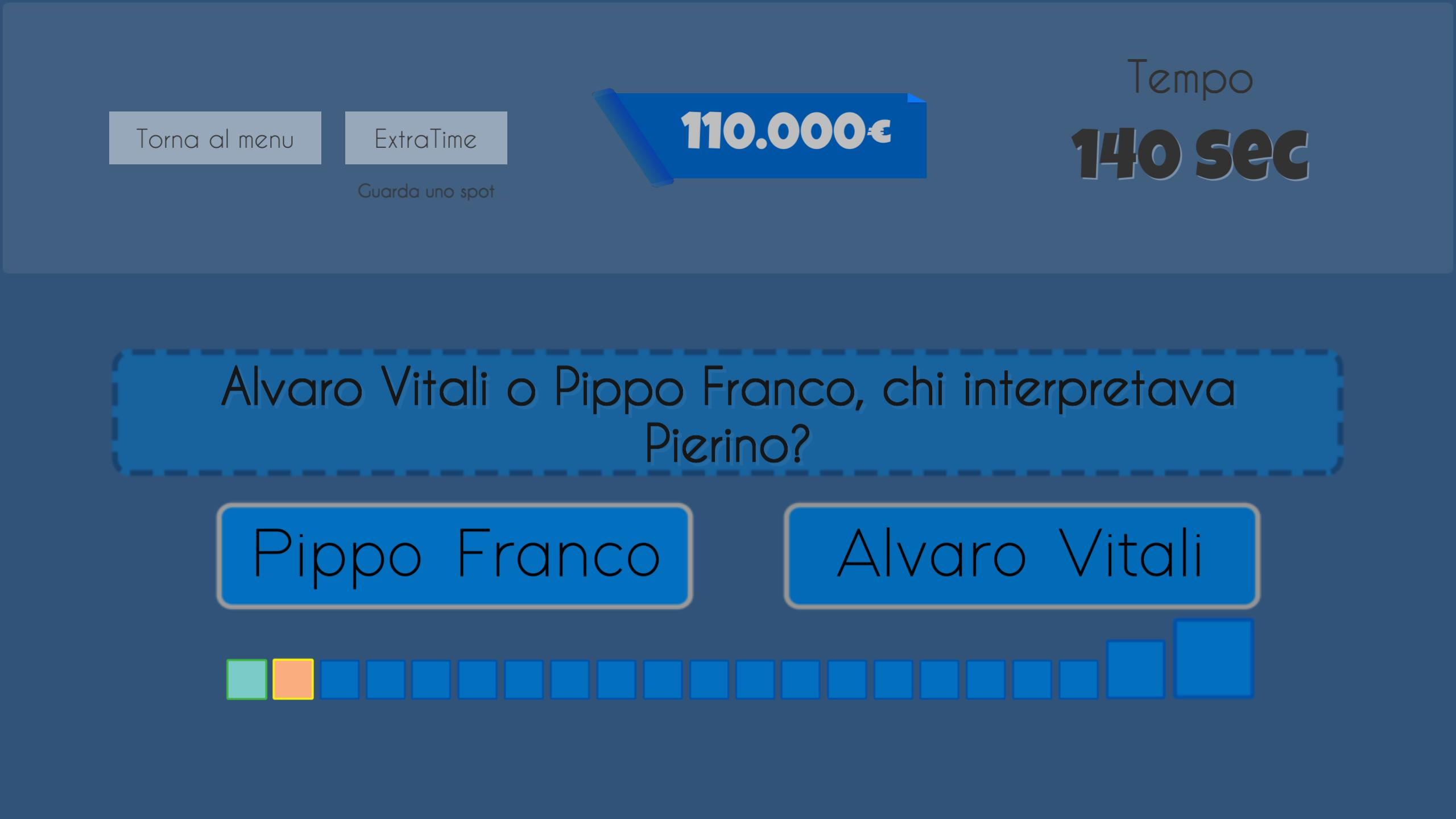 Avanti Con Un Altro - quiz 2020 3 تصوير الشاشة