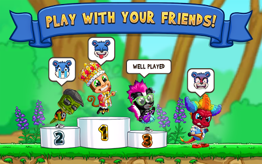 Fun Run 3 - Multiplayer Games screenshot 8