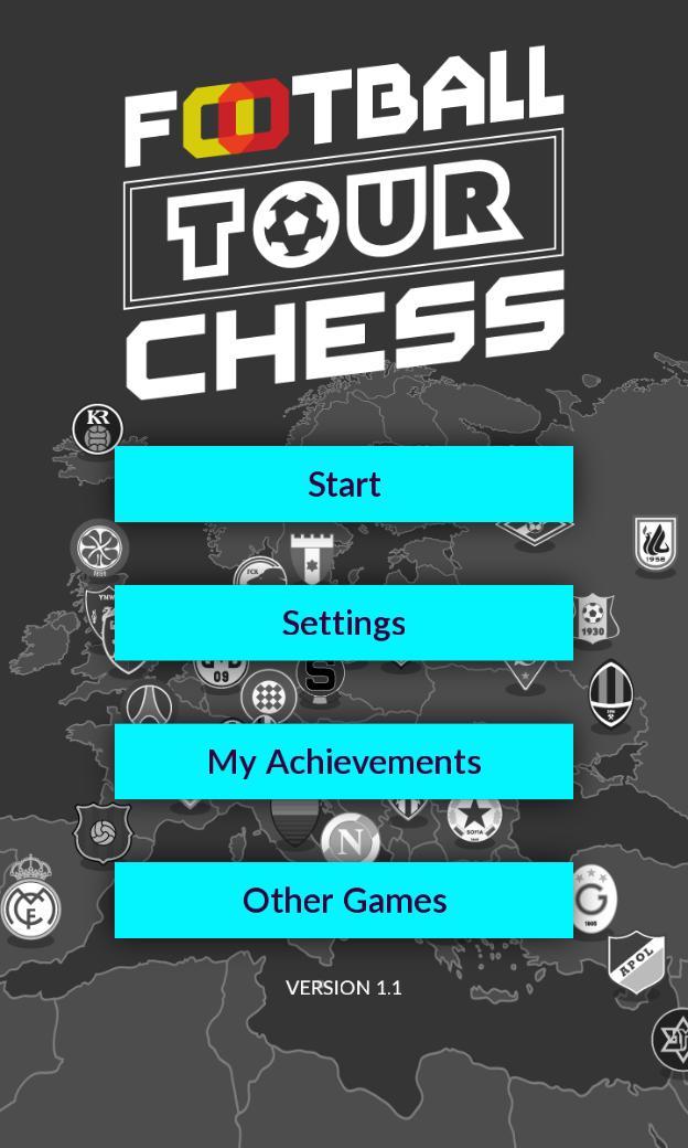 Football Tour Chess 12 تصوير الشاشة