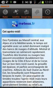 Meteox.fr 3 تصوير الشاشة