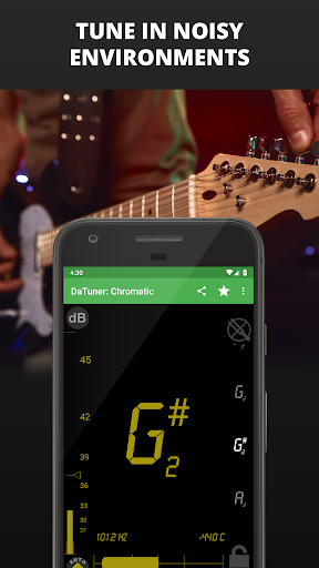Guitar Tuner, Bass, Violin, Banjo & more | DaTuner 6 تصوير الشاشة