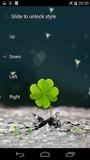 Galaxy rainy lockscreen screenshot 13