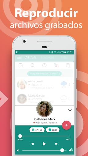 Call Recorder - Grabador de llamadas gratis screenshot 2