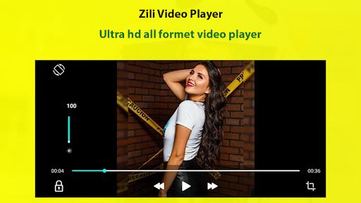 Zili video player screenshot 1