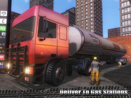 石油貨物輸送トラック screenshot 14