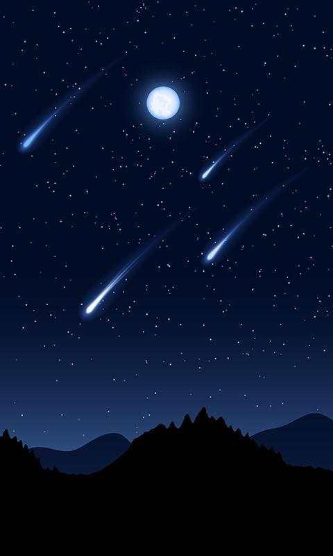 Meteor Live Wallpaper screenshot 4