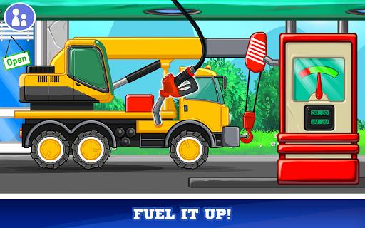 Kids Cars Games! Build a car and truck wash! screenshot 11
