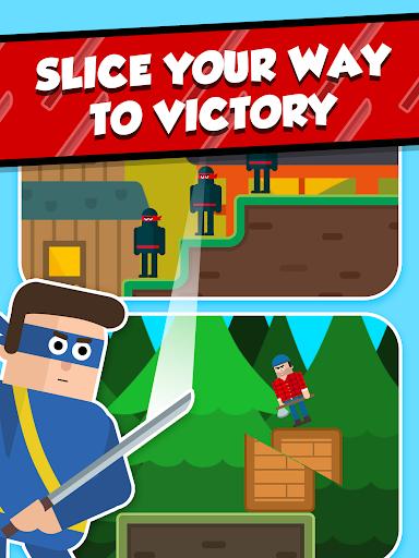 Mr Ninja - Slicey Puzzles screenshot 12
