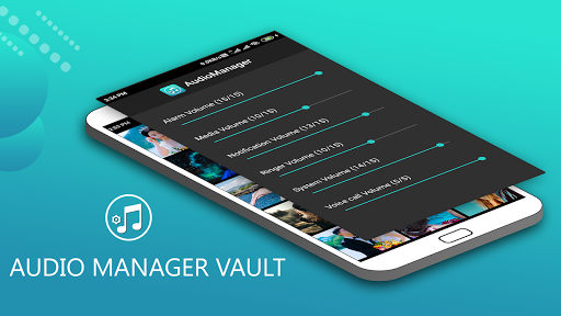 Audio Manager Vault - Hide photos,videos screenshot 1