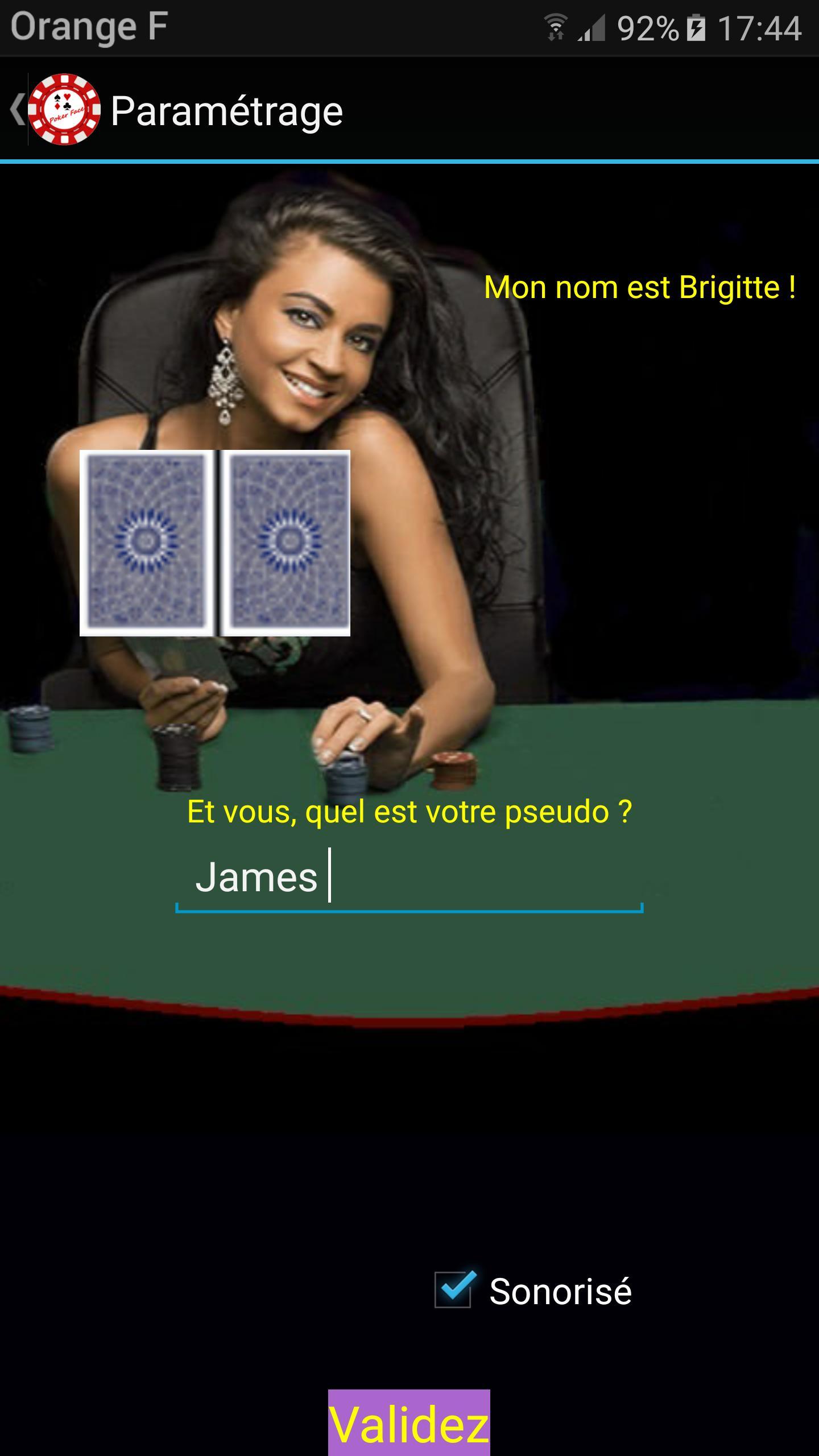 Poker Face 8 تصوير الشاشة