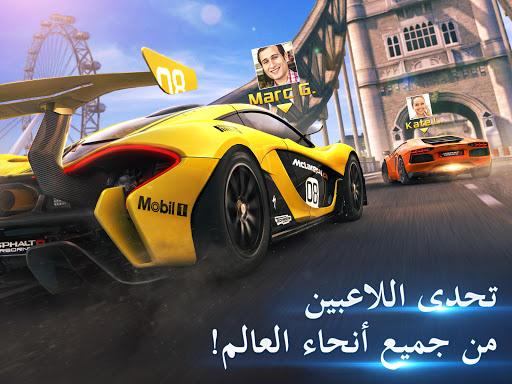 Asphalt 8: القيادة الهوائية - سباق سيارات ممتعة 10 تصوير الشاشة