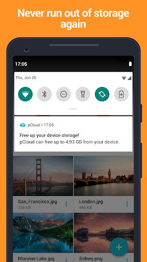 pCloud: Free Cloud Storage screenshot 3