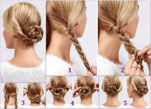 خطوة خطوة الشعر (أنثى) 11 تصوير الشاشة