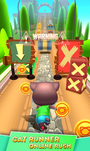 Cat Runner: Decorate Home screenshot 2