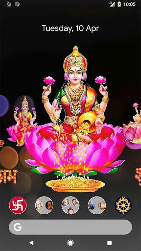 4D Lakshmi Live Wallpaper screenshot 2