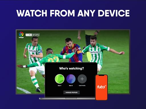 fuboTV: Watch Live Sports, TV Shows, Movies & News 13 تصوير الشاشة