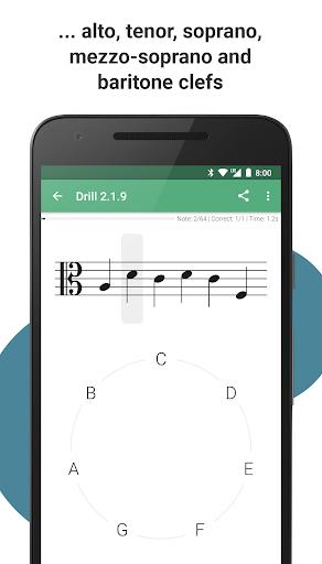 Complete Music Reading Trainer 4 تصوير الشاشة
