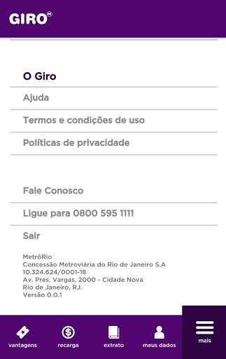 Giro MetrôRio screenshot 8