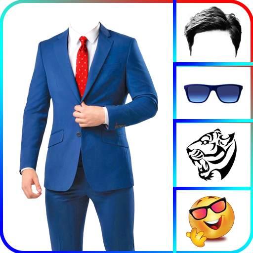 Men Suit Photo Editor