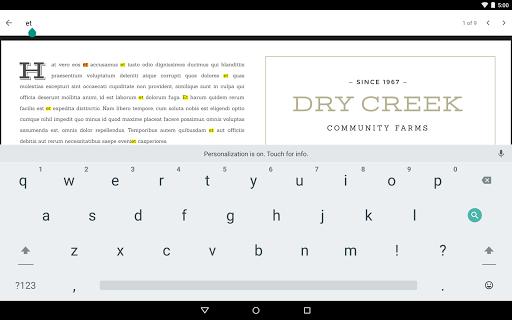 Google PDF Viewer screenshot 7