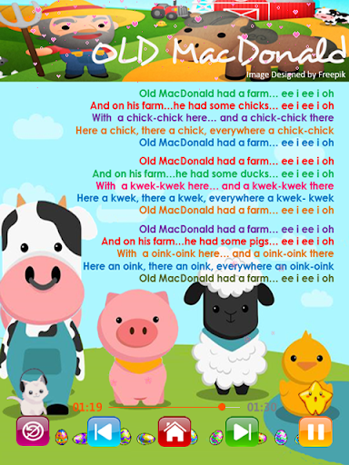 Kids Songs - Offline Nursery Rhymes & Baby Songs screenshot 4