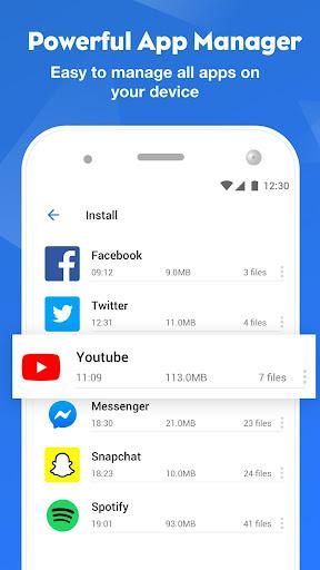 FileMaster: Gerenciar Arquivo, Limpeza Poderosa screenshot 2
