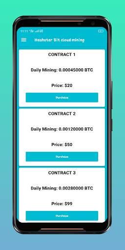 Hashstar Bit - Bitcoin Cloud Mining screenshot 6
