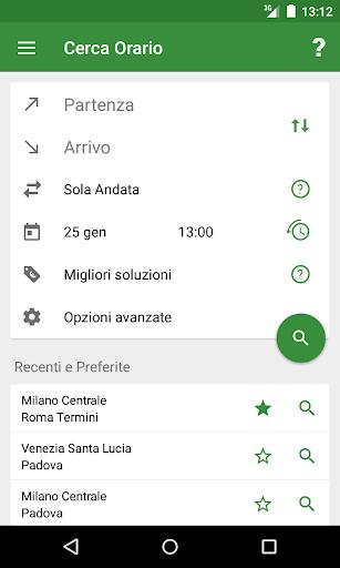Train Timetable Italy 1 تصوير الشاشة