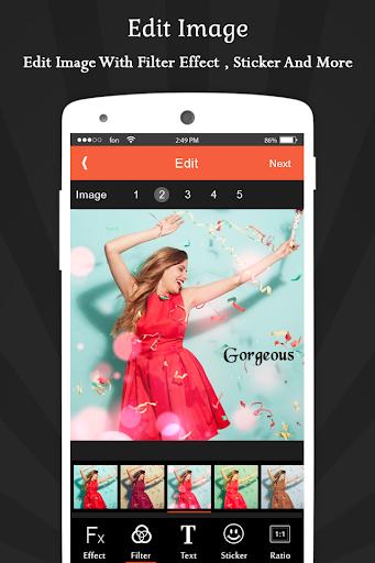 Image To Video Movie Maker - India's Editing App скриншот 3