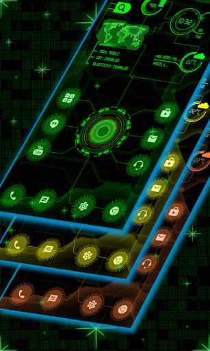 Circuit Launcher 2021 App lock, Hitech Wallpaper 9 تصوير الشاشة