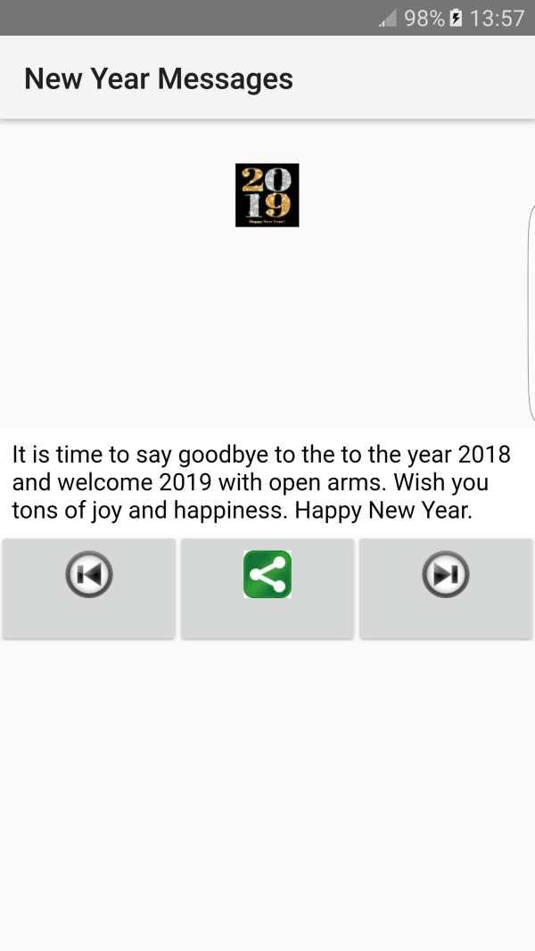 2019 New Year Messages screenshot 7