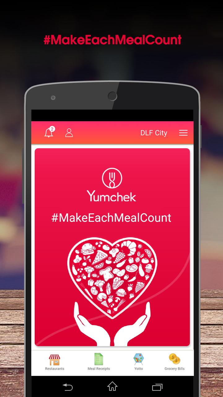 Yumchek - Make Each Meal Count 1 تصوير الشاشة