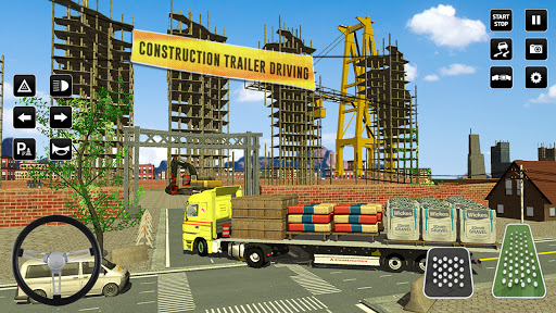 City Construction Simulator: Forklift Truck Game screenshot 5