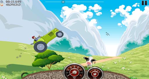 Farm Tractor Racing скриншот 1