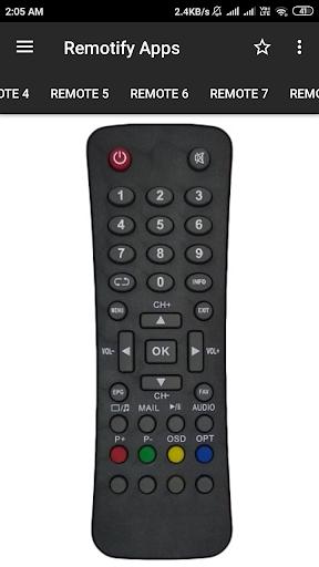 GTPL Remote Control (15 in 1) screenshot 3