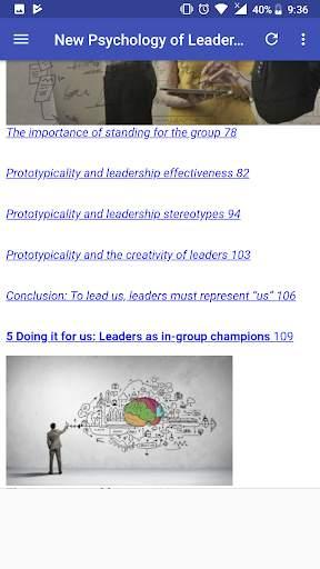 New Psychology of Leadership screenshot 3
