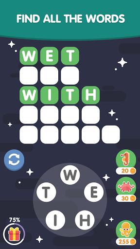 Word Search Sea: Unscramble words स्क्रीनशॉट 3