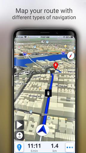 GPS Live Navigation, Maps, Directions and Explore screenshot 7
